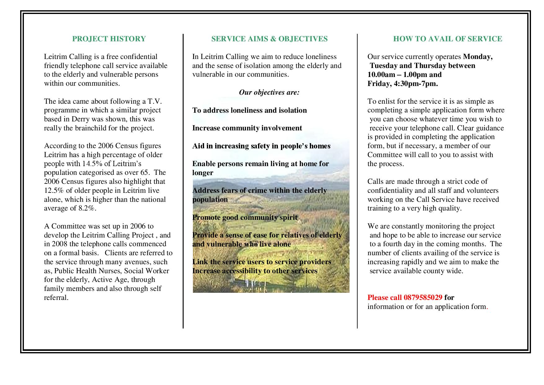 Leitrim Calling leaflet-page-001 - Alive2Thrive
