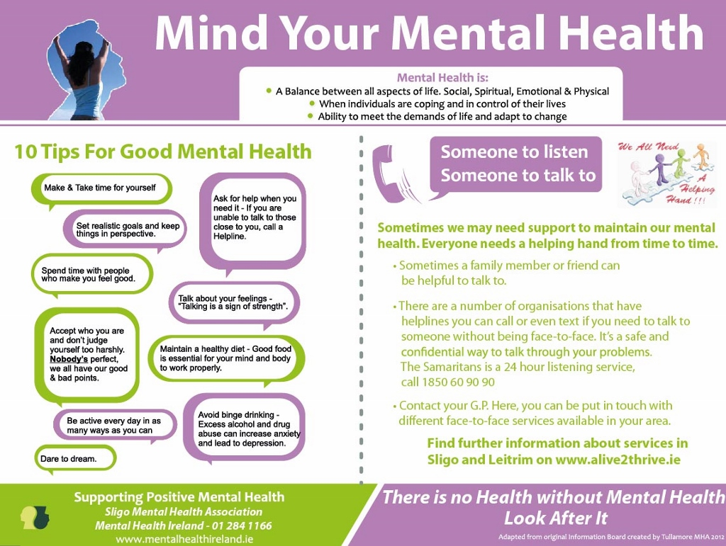 how to become mentally healthy
